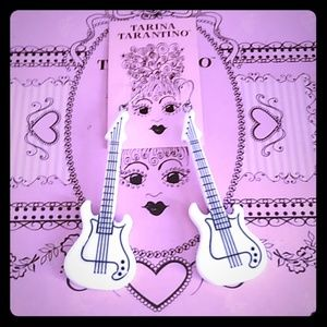 Tarina Tarantino guitar earrings